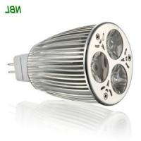 China 3w GU10/MR16 high power RGB Color Changing LED Light Bulb With Remote Control 170lm wholesale