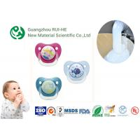 China Liquid Silicone Rubber For Baby Nipples, Bottles Injection Molding 2 Part LSR 6250 - 60 With LFGB wholesale