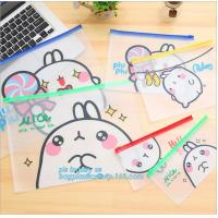 China Zip-lock bag for Electronics, PVC Slider Bag for Makeup Tools, PE clear window bag/plastic bag with zipper/food bag on sale