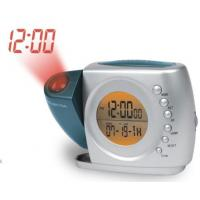China New Dual projections alarm clock radio with back up battery on sale