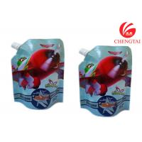 China Gravure Printing Surface Stand Up Spout Pouch Use Handling Shampoo Bags wholesale