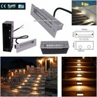 Decorative Outdoor Step 5730 SMD Recessed LED Wall for Stair Lights Night lights plug in wall Manufactures