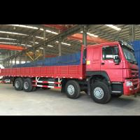 Buy cheap 2018 new used 6x4 10 wheel 8x4 12 wheel Sinotruck Howo sidewall fence stake cargo truck from wholesalers