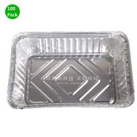 China Aluminum Disposable Pans (100 Pack)- Aluminum Baking Pans, Foil Pans for Chafing Racks, BBQ, Catering, Baking, Cooking on sale