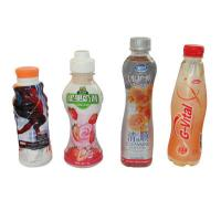 China Customized Design PVC Heat Shrink Sleeve Labels For Juice Water Bottle Packaging wholesale