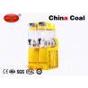 China 2 Tanks COntertop Icee Slushy Maker Commercial Frozen Margarita Maker Machine wholesale