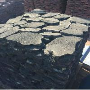 China Black Lava Stone Random Flagstones,Lava Irregular Flagstones,Basalt Crazy Stones,Lava Random Stones wholesale
