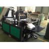China Medical Non Woven Fabric Bag Manufacturing Machine / Non Woven Loop Handle Bag Making Machine wholesale