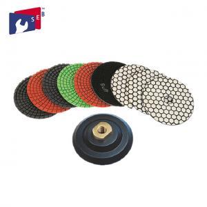 China 8 Step Diamond Marble Polishing Pads , Premium Granite Polishing Pads wholesale