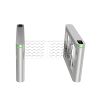 China High Security Face Recognition Fully Automatic Swing Gate Turnstile For Hotel wholesale