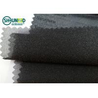 China Garment Suits Plain Weave Fusible Woven Interlining Polyester Light Weight wholesale