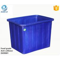 China CE approved large plastic blue fish tubs for sale be made in China wholesale