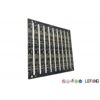 China Multilayer PCB Circuit Board 6 Layers 0.8mm Board Thickness With Black Soler Msak on sale