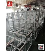 China Light Weight Aluminum Square Truss / Concert Truss System 30 * 2mm Brace Pipe wholesale