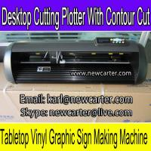 China Digital Cutting Plotter 24'' Contour Cutting Plotter Adhesive Vinyl Decal Cutter HW630 cut wholesale