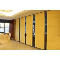 China 85 mm Thickness Sound Proofing Wooden Partition Walls With Aluminum Profile wholesale