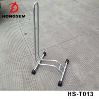 China High Quality Back Wheel Repair Stand L Shape Bike Parking Stand Floor Bicycle Display Rack on sale