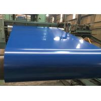China RAL Standard Prepainted Galvanized Steel With PE / PVDF / SMP Coating wholesale