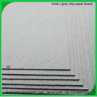 China Single ply grey board / Single ply grey chipboard / Single ply grey cardboard / Single ply wholesale