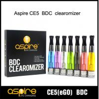 China China e-cigarette Supplier SEHOYA Vapor Aspire CE5 BDC atomizer Glass Version wholesale