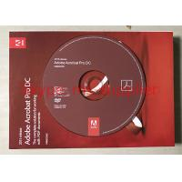 China 32/64- Bit Adobe Graphic Design Software Original DVD With Retail Box wholesale