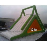 China Customized 0.9mm PVC Inflatable Water Slide For Commercial Use wholesale