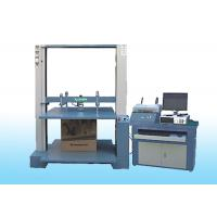China 20KN ~ 100KN Professional Servo Carton Compression Tester Packaging Test Equipment wholesale