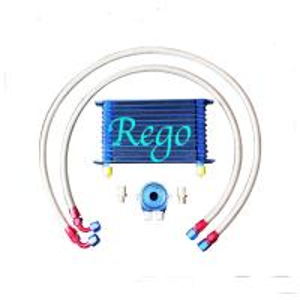 China Aluminium Radiator Transmission Oil Cooler Kit , 13 Rows External Transmission Oil Cooler on sale