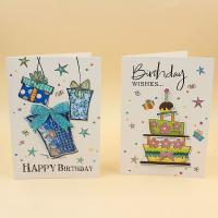 China 250 / 300g Coated Paper Audio Greeting Card 10-240 Seconds With Music Chip Module wholesale