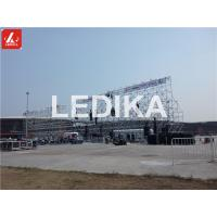 China Multipurpose Speaker Stands Steel Layer Truss For Outdoor / Indoor Performances wholesale