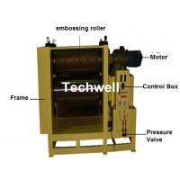 China 300 / 360 / 400mm Wood Floor Embossing Machine Widely Used for Embossing on Solid Wooden Board wholesale