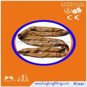 China 6 Ton Nylon Lifting Slings , Heavy Duty Lifting Chains Webbing For Warehouse wholesale