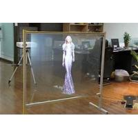 China Reflective Transparent Projection Screen Film , Advertisement Holographic Projection Film,Holographic Vinyl Film  wholesale