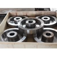 China Alloy steel wheels used as normal machine assemble part by sand casting process wholesale