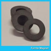 China Y35 Grade Permanent Ferrite Ring Magnet SrO / Bao And Fe2O3 Material wholesale