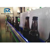 China Fully Automatic Glass Bottle Filling Machine  Sus304 High Accrurate Filling wholesale