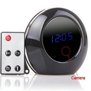 Alarm Clock Cam 1280X960 Spy Clock Camera Audio Video Recorder Camcorder