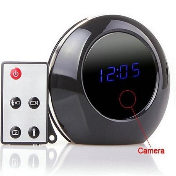 Quality Alarm Clock Cam 1280X960 Spy Clock Camera Audio Video Recorder Camcorder for sale