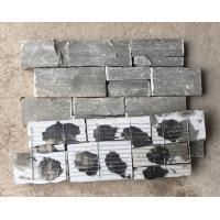 China Grey Slate Z Stone Panel with Steel Wire Back,Natural Slate Stacked Stone,Z Stone Cladding for Wall wholesale