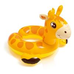 China Cartoon Animal Baby Swimming Ring , Swimming Pool Inner Tubes 0.25mm Thickness wholesale