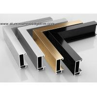 China Wide Edge Metal Aluminium Picture Frame Mouldings For Gallery wholesale
