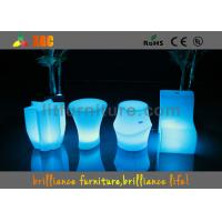 China Wireless Remote Control  , LED Cube Chair with 16 colors for coffee shop wholesale