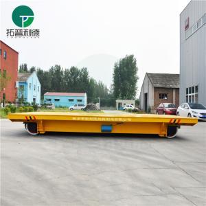 50t railroad transfer trolley for warehouse bay cargo handling