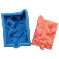 China good quanlity silicone rubber soap molds fairy Nicole soap mould manufacturer wholesale