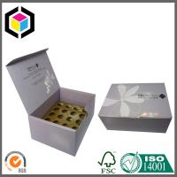 China Glossy CMYK Color Printing Corrugated Cardboard Packaging Box with Dividers wholesale