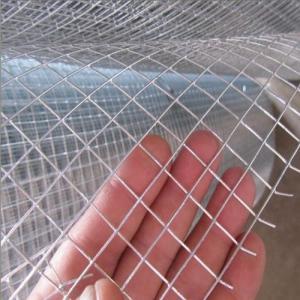 22 Gauge Zinc Coated Welded Wire Mesh For Raising Animals , 0.4 MM - 3MM Diameter