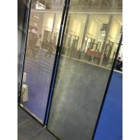 China SGP Laminated Glass Partition With Metal Coated Polyester Mesh Fabric wholesale
