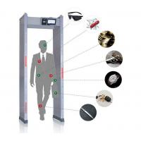China Touch Screen Walk Through Metal Detector Door Frame For Defender / Public / Archway Security wholesale