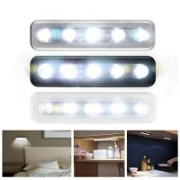 Small Size Wireless LED Night Light Convenient 50000 Hours Long Lifespan