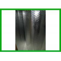China PT Recycled Bubble Foil Insulation Aluminum Single Bubble Blanket Insulation wholesale